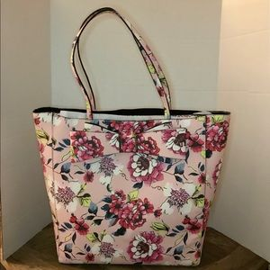 Betsey Johnson Pink Floral Tote
